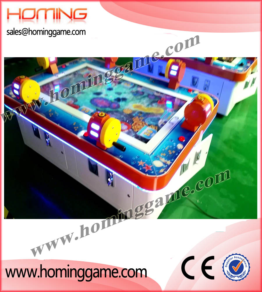 Specialize in manufacturing and supplying 2016 Go Fishing Kids Redemption Game Machine Best For FEC Center(6 Players or 2 Players),Go fishing game machine,go fishing game,go fishing redemption game machine,video redemption arcade game,Go fishing,harpoon lagoon,deep sea,treasure,crompton,pusher,coin pushers,redemption,game,games,shark,win,redemption machine,fishing game,fishing game machine,redemption ticket game machine,game machine,arcade game machine,coin operated game machine,amusement park game equipment,indoor game machine,FEC game machine,kids game equipment,slot machine,gaming machine,ticket redemption game machine,redemption ticket game machine.