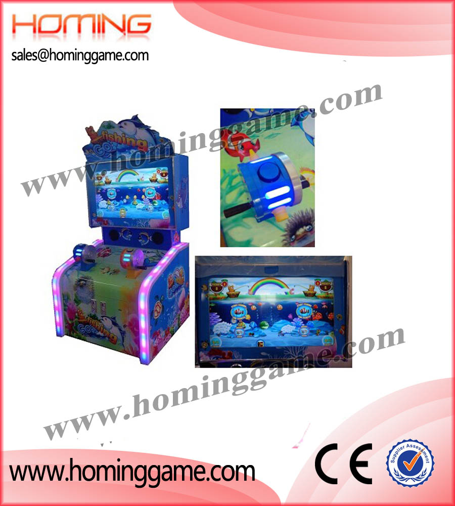 Specialize in manufacturing and supplying 2016 Go Fishing Kids Redemption Game Machine Best For FEC Center(6 Players or 2 Players),video redemption arcade game,Go fishing,harpoon lagoon,deep sea,treasure,crompton,pusher,coin pushers,redemption,game,games,shark,win,redemption machine,fishing game,fishing game machine,redemption ticket game machine,game machine,arcade game machine,coin operated game machine,amusement park game equipment,indoor game machine,FEC game machine,kids game equipment,slot machine,gaming machine,ticket redemption game machine,redemption ticket game machine.