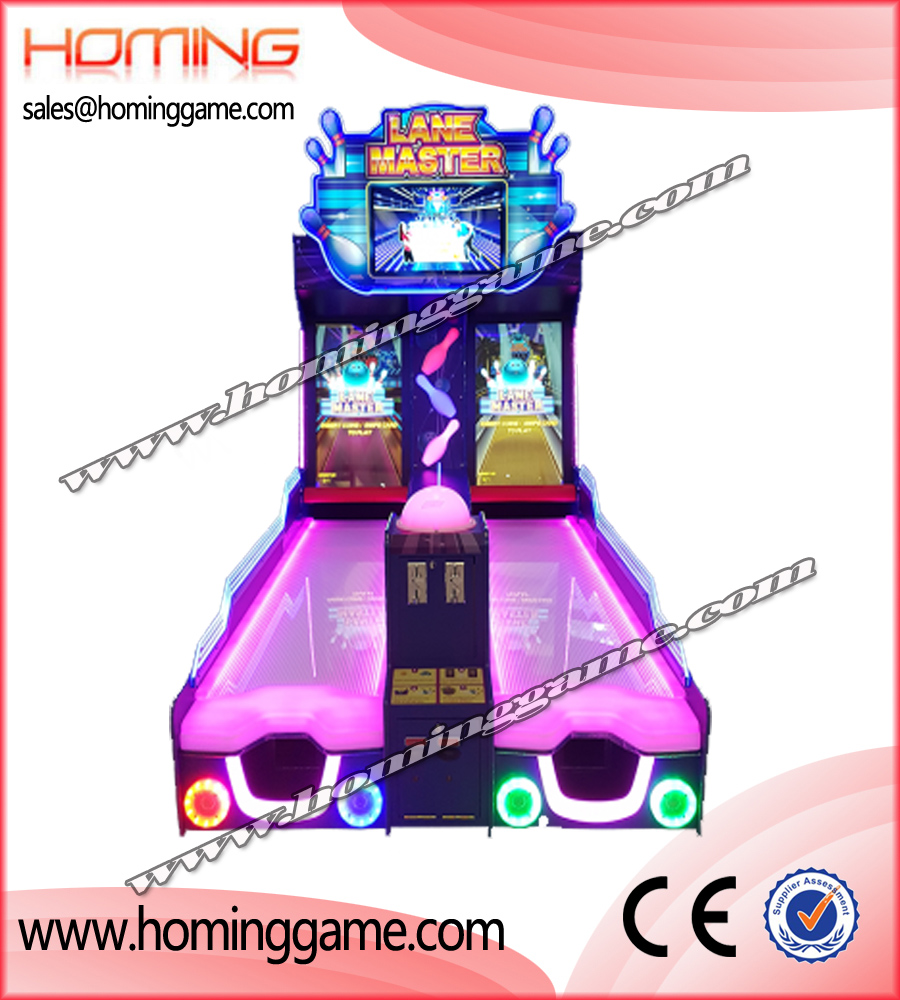 New Lane Master Bowling Video Redemption Aracade Game Machine,redemption game machine,kids game machine,children game machine,game machine,arcade game machine,coin operated game machine,amusement park game machine,indoor game machine,entertainment game machine,slot game machine,amusement park game machine,game equipment