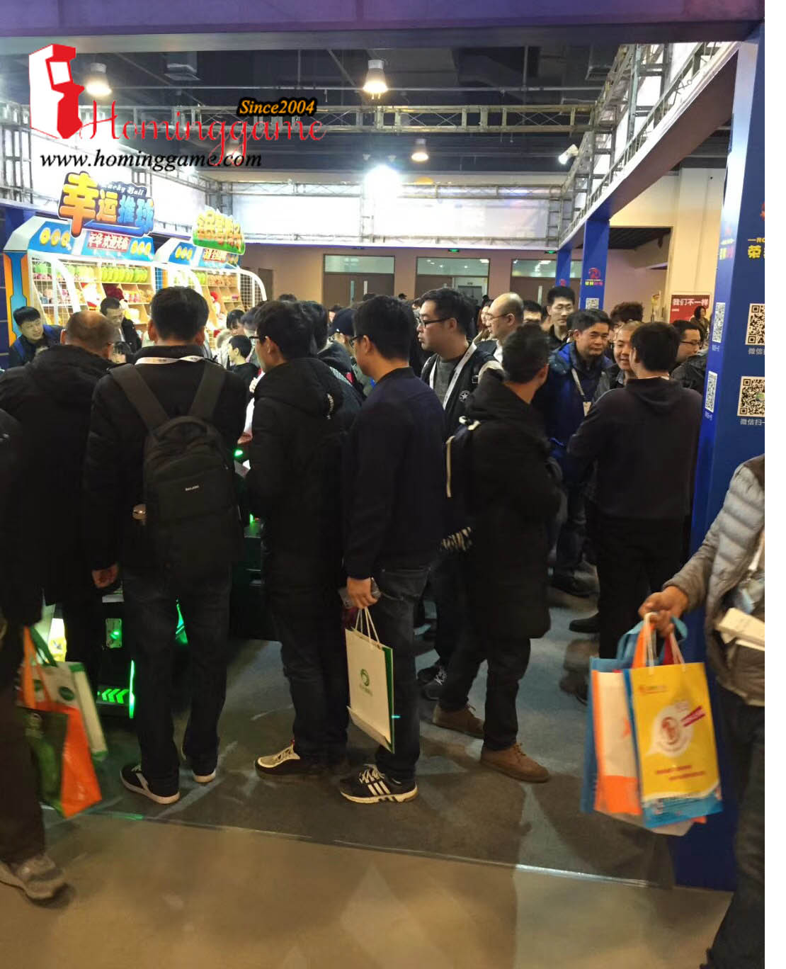 We Are in 2018 CAAPA BeiJing Game Exhibition Show,CAAPA,game show,game exhibition show,game machine,arcade game machine,coin operated game machine,prize game machine,coin pusher,simulator game machine,amusement park game equipment,family entertainment,entertainment game machine,hominggame,homing game