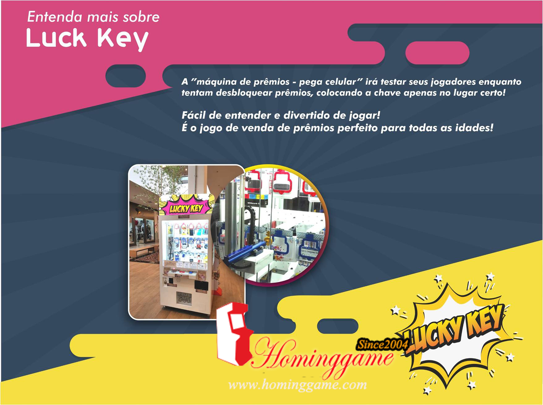 2018 HomingGame New Lucky Key Premios Equipamento Vending Machine For Brasil,Lucky Key,Lucky Key Master,Lucky Key Master Prize Game Machine,Key Master Prize Game Machine,Key Master,Key Master Arcade Game Machine,Key Master Arcade Game Machine,Premios Equipamento,Vending Machine,Prize Vending Machine,Vending Game Machine,Gift Game Machine,Game Machine,Arcade Game Machine,Coin Operated Game Machine,Arcade Games,Amusement Park Game Equipment,Indoor Game Machine,Entertainment Game,Family Entertainment