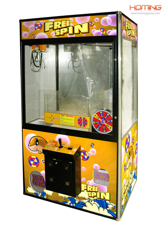 Lucky Wheel crane machine,toy crane machines, Arcade claw machine, claw machines, Claw machines crane machines for sale, plush crane machine