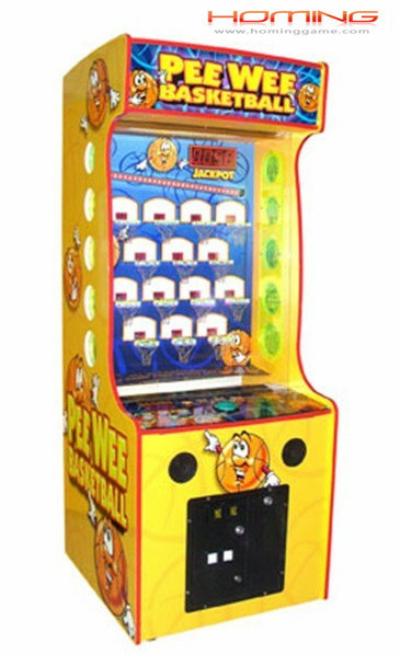 PeeWeeBasketBall redemption game machine