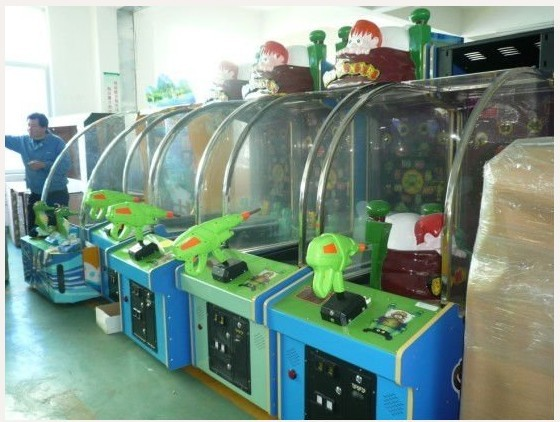 Hot sales in 2011 BED MONSTER Game Machines