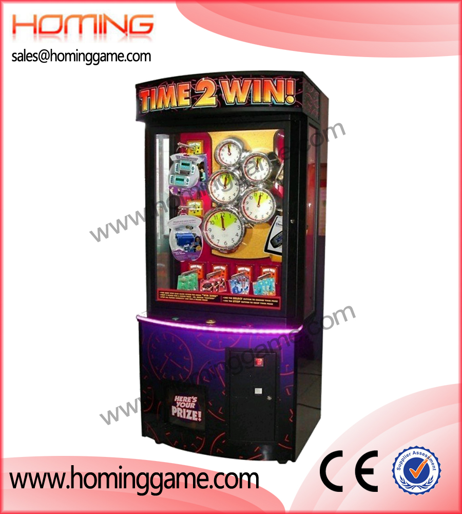 Time 2 Win GIFT MACHINE,gift game machine,prize game machine,prize vending game machine,game machine,arcade game machine,coin operated game machine,amusement machine,amusement game equipment,electrical slot game machine