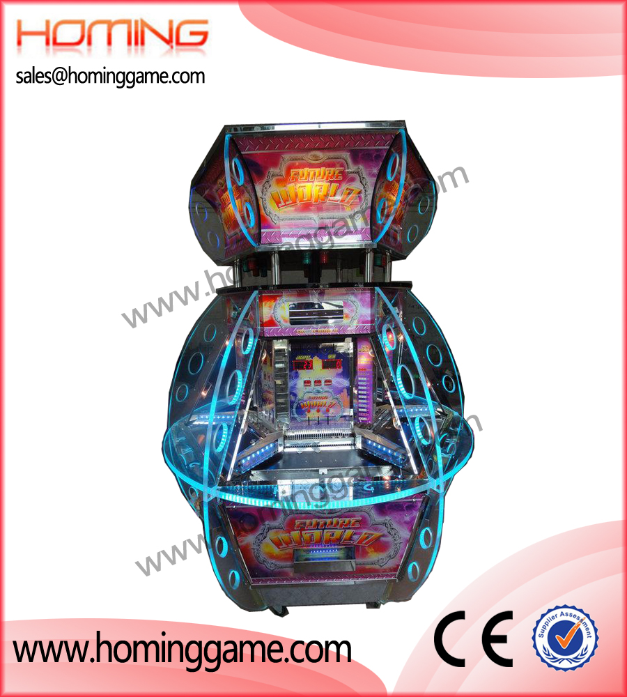 Future World Coin pusher game machine,game machine,arcade game machine,coin operated game machine,amusement machine,amusement game equipment,electrical slot game machine,arcade games