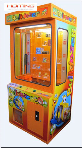 Bulldozer prize game machine,key point push prize game,game machine,arcade game machine,prize vending machine,coin operated game machine