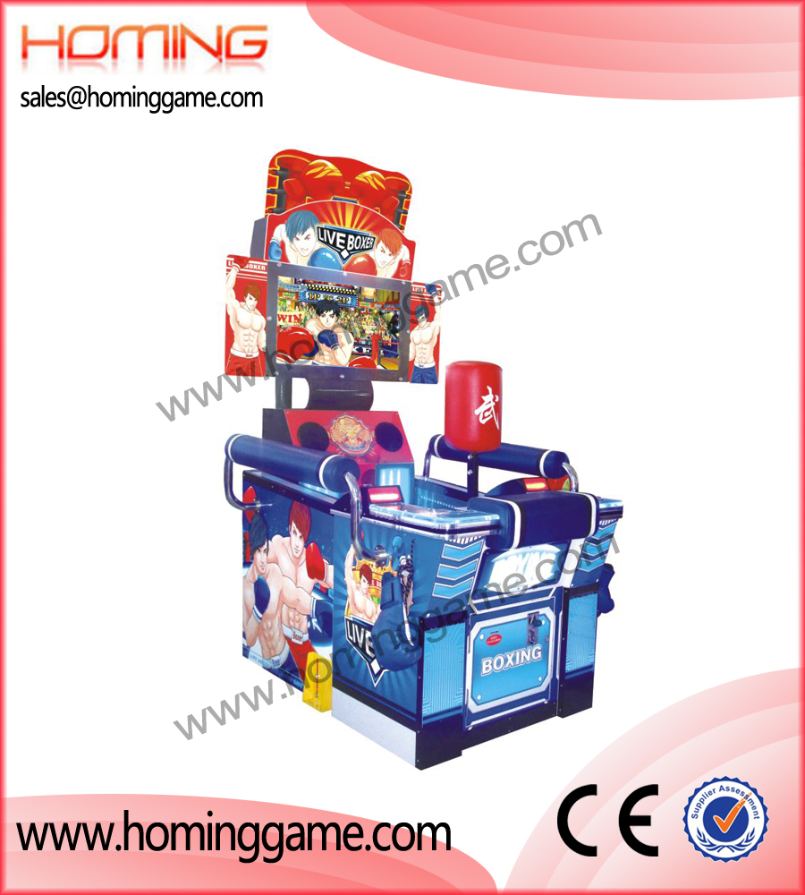 Live Boxer redemption game machine,game machine,arcade game machine,coin operated game machine,amsuement game equipment,electrical slot game machine,redemption machines