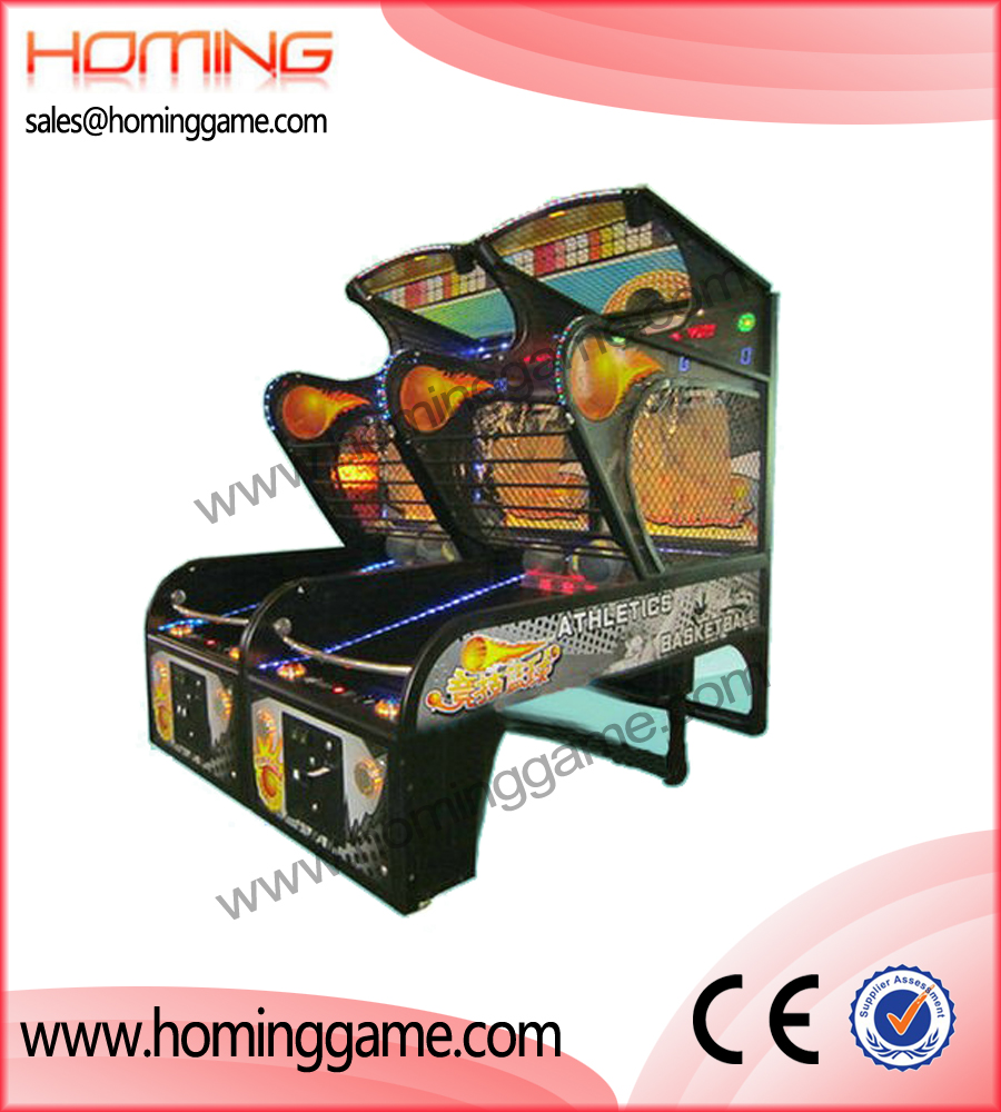 Athletics Basketball game machine,basketball game machine,game machine,arcade game machine,coin operated game machine,amusement machine,indoor game machine,game eqiupment