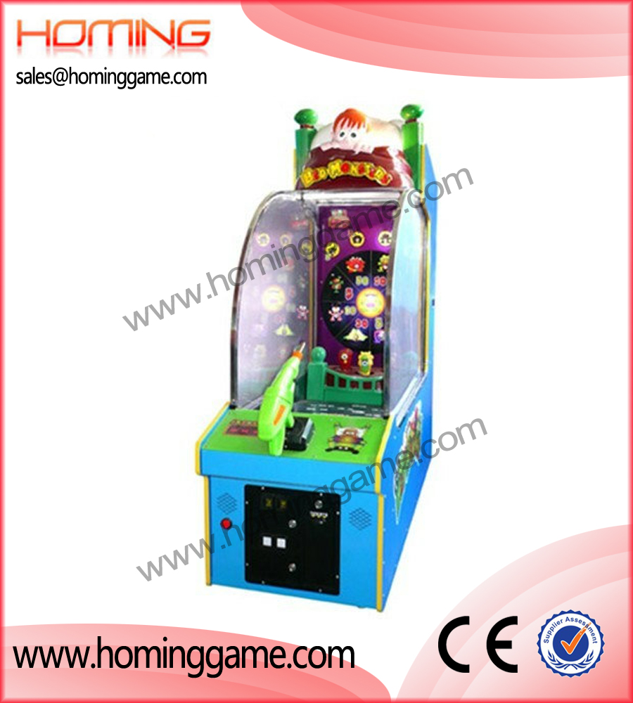BED MONSTER Game Machines,redemption game machine,arcade game machine,game machine,coin operated game machine,amusement game equipment,amusement game machine,indoor game machine,arcade games